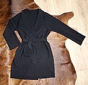 Одежда ручной работы. Ярмарка Мастеров - ручная работа Пальто без подкладки. Handmade.