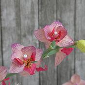 Цветы ручной работы. Ярмарка Мастеров - ручная работа Орхидея фаленопсис мини. Handmade.