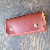 Сумки и аксессуары handmade. Livemaster - original item Leather key holder for 12 keys. Handmade.