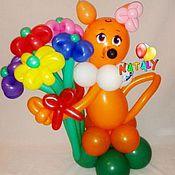 Подарки к праздникам ручной работы. Ярмарка Мастеров - ручная работа Лиса из воздушных шаров. Handmade.