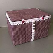 Для дома и интерьера handmade. Livemaster - original item Country craft box. Handmade.