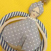 Куклы и игрушки ручной работы. Ярмарка Мастеров - ручная работа Пловчиха 36см интерьерная кукла. Handmade.