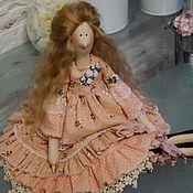 Куклы и игрушки ручной работы. Ярмарка Мастеров - ручная работа Интерьерная куколка в стиле Тильда.. Handmade.