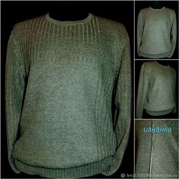 Clothing handmade. Livemaster - original item 100% linen Men`s long sleeve