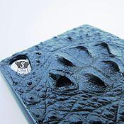 Сумки и аксессуары ручной работы. Ярмарка Мастеров - ручная работа Чехол из крокодила. Handmade.