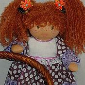 Куклы и игрушки ручной работы. Ярмарка Мастеров - ручная работа вальдорфская кукла Маруся. Handmade.