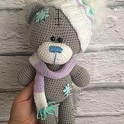 Куклы и игрушки ручной работы. Ярмарка Мастеров - ручная работа Вязаный мишка Тедди. Handmade.
