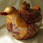 Русский стиль handmade. Livemaster - original item Salt shaker with cover