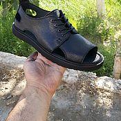 Сандалии ручной работы. Ярмарка Мастеров - ручная работа Мужские кожаные сандалии. Handmade.