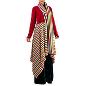 Одежда handmade. Livemaster - original item Cardigan Long cardigan Fashion cardigan Warm cardigan. Handmade.
