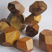 Куклы и игрушки ручной работы. Ярмарка Мастеров - ручная работа Гора камней (Tumi Ishi), деревянные игрушки. Handmade.