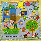 Для дома и интерьера ручной работы. Ярмарка Мастеров - ручная работа Детский игровой коврик. Handmade.
