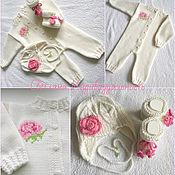 Работы для детей, handmade. Livemaster - original item Set With a rose. Handmade.