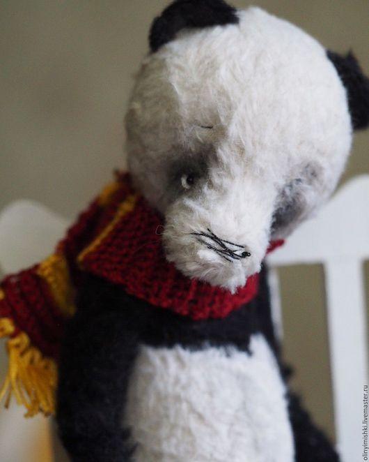 Мишки Тедди ручной работы. Ярмарка Мастеров - ручная работа. Купить Одинокая панда Саша. Handmade. Мишки тедди, мишки