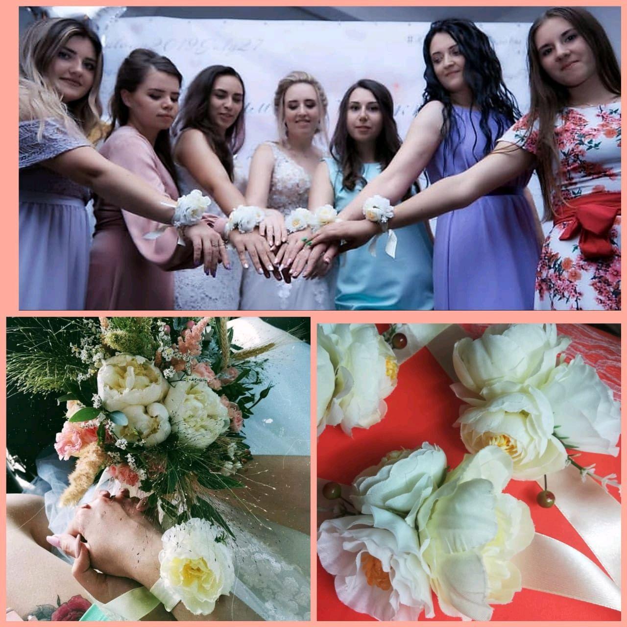 Браслет на руку подружкам невесты, Браслеты, Ростов-на-Дону,  Фото №1