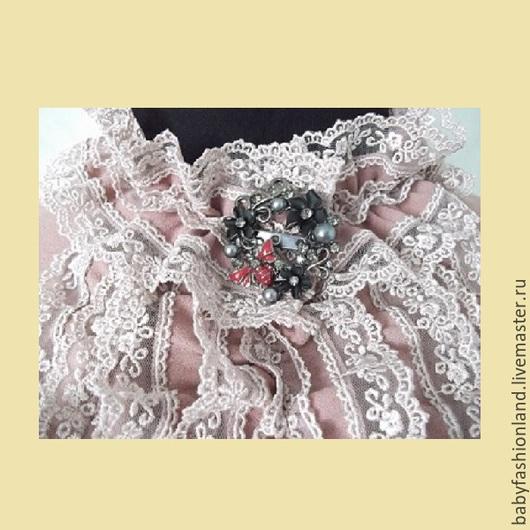 Платья ручной работы. Ярмарка Мастеров - ручная работа. Купить Блузка из крепа Пепел розы. Handmade. Розовый, блузка