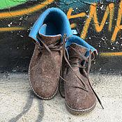 """Обувь ручной работы. Ярмарка Мастеров - ручная работа Боты """"Лон-Дон"""" демисезонные. Handmade."""