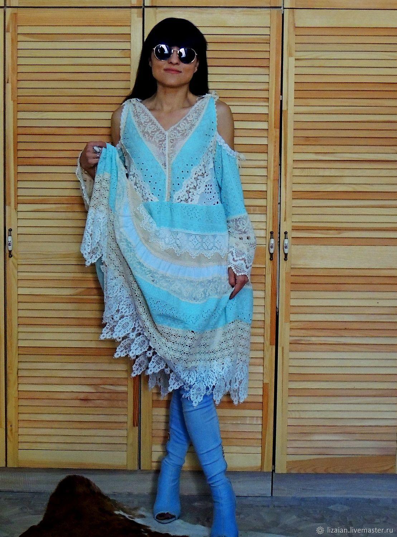 65c3b06a579 Платья ручной работы. Ярмарка Мастеров - ручная работа. Купить Летнее платье  в стиле БОХО ...