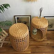 Для дома и интерьера handmade. Livemaster - original item Wicker furniture, bedside table, coffee table. Handmade.
