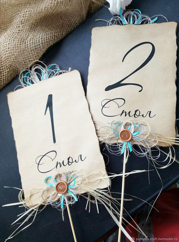 Номерки на столы на свадьбу своими руками фото 41