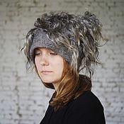 Caps handmade. Livemaster - original item Felted hat