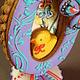 """Кулинарные сувениры ручной работы. пряничное пасхальное яйцо"""" Ко-ко-е все красивое!"""". Elena Vlasyuk Пряничные штучки. Ярмарка Мастеров."""