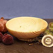 Посуда handmade. Livemaster - original item Wooden Bowl (18cm) 100%#63. Handmade.