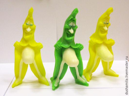 Мыло ручной работы. Ярмарка Мастеров - ручная работа. Купить Мыло Банан-хулиган. Handmade. Желтый, мыло для взрослых