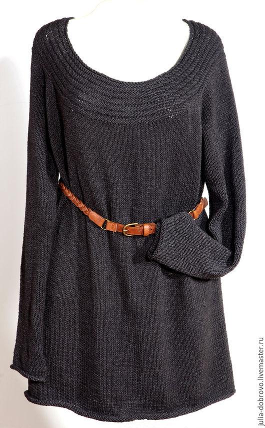 Кофты и свитера ручной работы. Ярмарка Мастеров - ручная работа. Купить Туника, свободный джемпер женский. Handmade. Туника, акрил