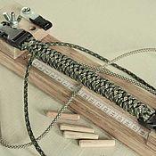 Материалы для творчества handmade. Livemaster - original item The machine (jig) for weaving of paracord. Handmade.