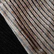 Материалы для творчества ручной работы. Ярмарка Мастеров - ручная работа Вельвет плотная ткань цвет черный, коричневый. Handmade.