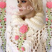 """Одежда ручной работы. Ярмарка Мастеров - ручная работа Вязаный свитер """"Coral Rose"""" от Olga Lace. Handmade."""