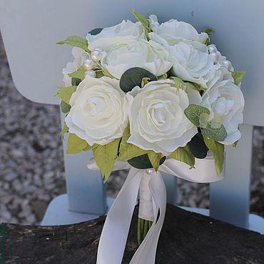 Свадебный салон ручной работы. Ярмарка Мастеров - ручная работа Букет невесты , Свадебный букет красный , букет невесты Белый. Handmade.