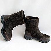 Обувь ручной работы handmade. Livemaster - original item Felt Boots Runners h18-20. Handmade.