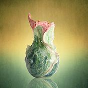 """Для дома и интерьера ручной работы. Ярмарка Мастеров - ручная работа Ваза """"Яблочный спас"""". Handmade."""