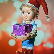 Куклы и пупсы ручной работы. Ярмарка Мастеров - ручная работа Джастин с подарком. Handmade.