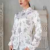 """Блузки ручной работы. Ярмарка Мастеров - ручная работа Рубашка """"Элегантная"""". Handmade."""