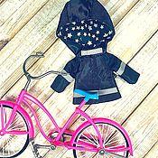 Одежда для кукол ручной работы. Ярмарка Мастеров - ручная работа Куртка - дождевик для Блайз. Handmade.