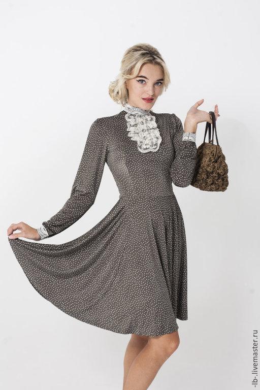 Платья ручной работы. Ярмарка Мастеров - ручная работа. Купить Платье на выпускной. Handmade. Бежевый, Платье нарядное, стильное платье