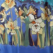 Одежда ручной работы. Ярмарка Мастеров - ручная работа Escape  (40-42 р) Платье с нарциссами. Handmade.