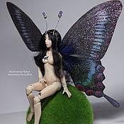 Куклы и игрушки handmade. Livemaster - original item Cassia, butterfly (12,5 cm). Handmade.