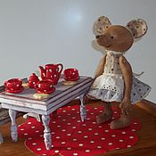 Куклы и игрушки ручной работы. Ярмарка Мастеров - ручная работа Гостеприимная Мышка. Handmade.