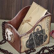 """Для дома и интерьера ручной работы. Ярмарка Мастеров - ручная работа Короб для хранения """"Style"""". Handmade."""