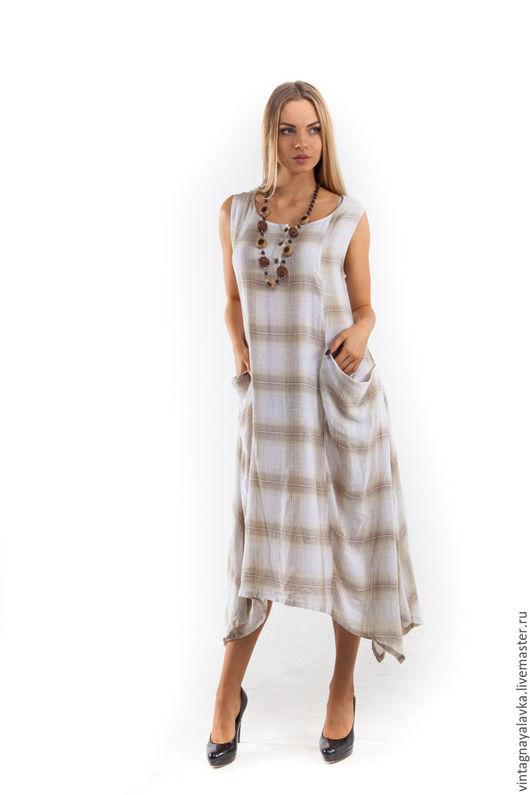 """Платья ручной работы. Ярмарка Мастеров - ручная работа. Купить Платье-сарафан """"Для души"""". Handmade. Платье летнее"""