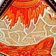"""Животные ручной работы. Витражная роспись """"Кот-обормот"""". Елена. Ярмарка Мастеров. Котик, животные, витражные краски, контуры по стеклу"""