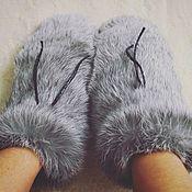 Аксессуары handmade. Livemaster - original item Mittens fur. Handmade.