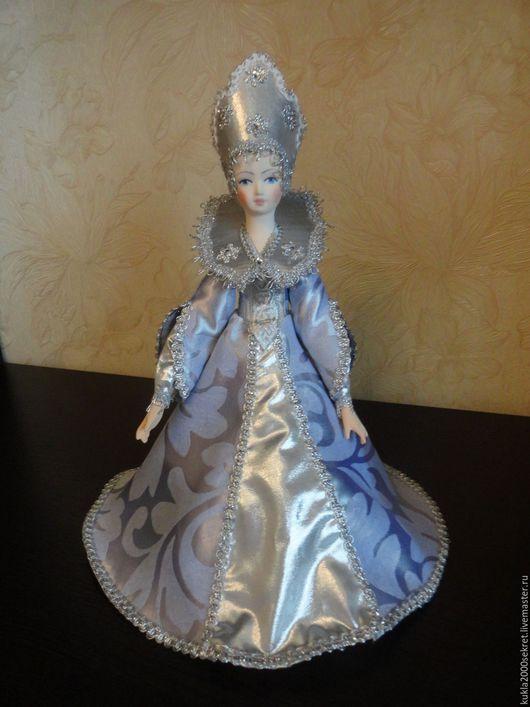 Коллекционные куклы ручной работы. Ярмарка Мастеров - ручная работа. Купить Кукла-шкатулка-Новогодняя. Handmade. Комбинированный, кукла в подарок