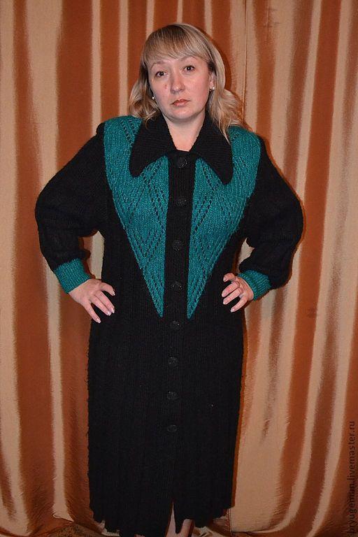 Верхняя одежда ручной работы. Ярмарка Мастеров - ручная работа. Купить Кардиган (пальто). Handmade. Орнамент, пальто женское