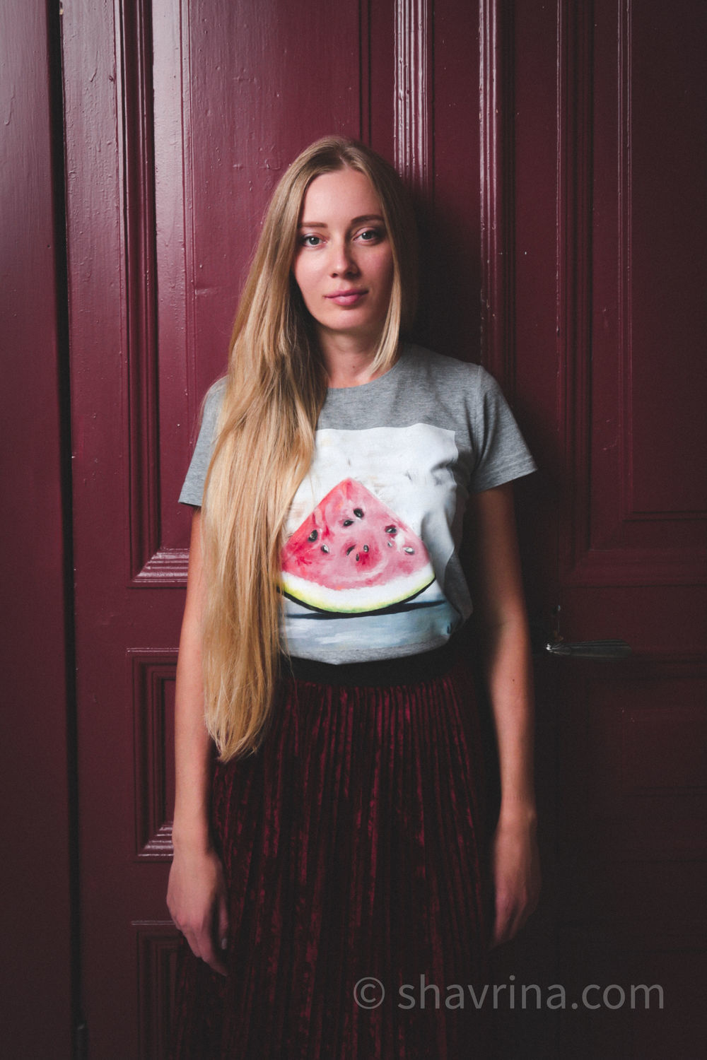 t-shirt: WATERMELON SLICE author's t-shirt with print, T-shirts, Moscow,  Фото №1