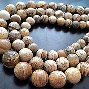 Материалы для творчества handmade. Livemaster - original item Smooth Jasper natural beads 10, 12, 14, 16mm. Handmade.